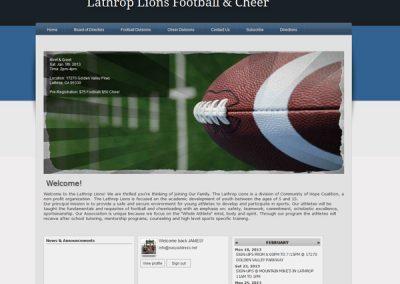 LATHROP FOOTBALL & CHEER