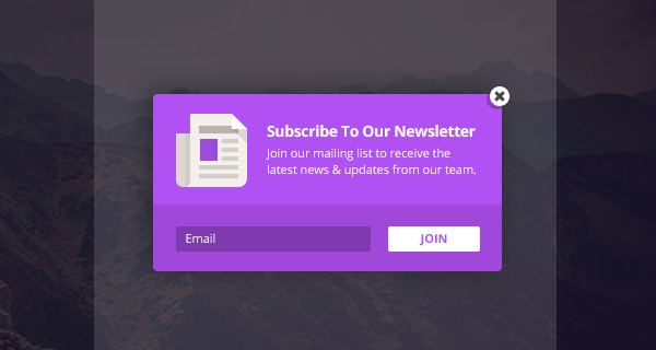 Opt-In Popups